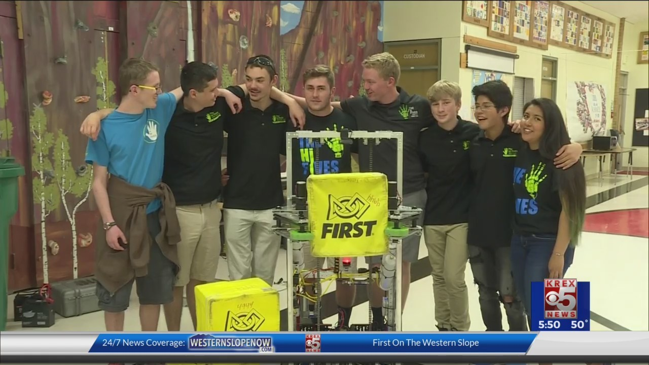 Allgood News: HI Fives 4944 Robotics Team