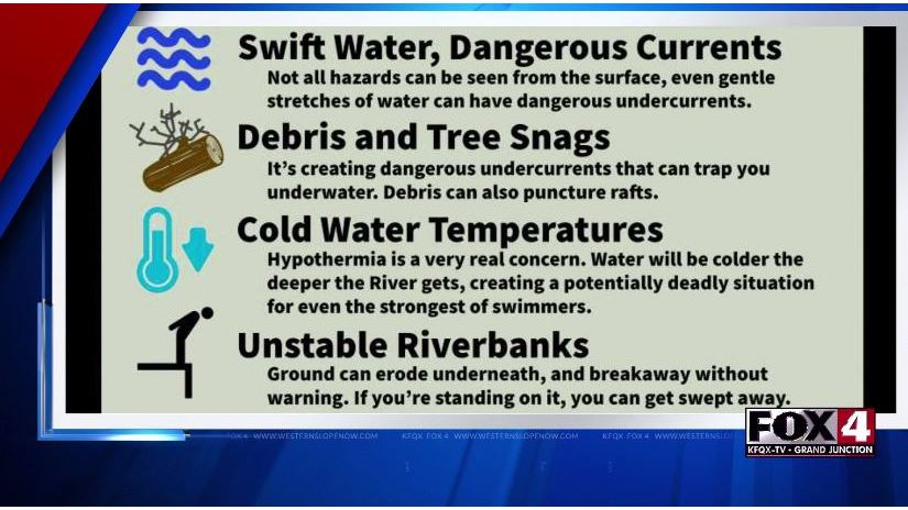 GJFD Warns About River Danger