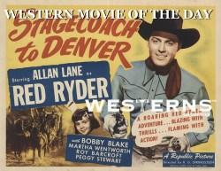 Stagecoach to Denver Red Ryder westernsontheweb