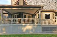 Wood Porch Spindles, Traditional Turned Cedar Balusters ...