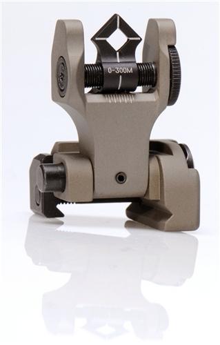 Troy BattleSight Rear Di-Optic Aperture (DOA) Folding (FDE)