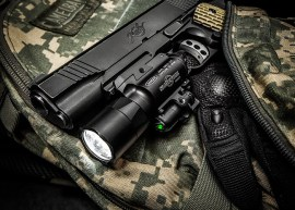 Surefire x400ultra flashlight on 1911