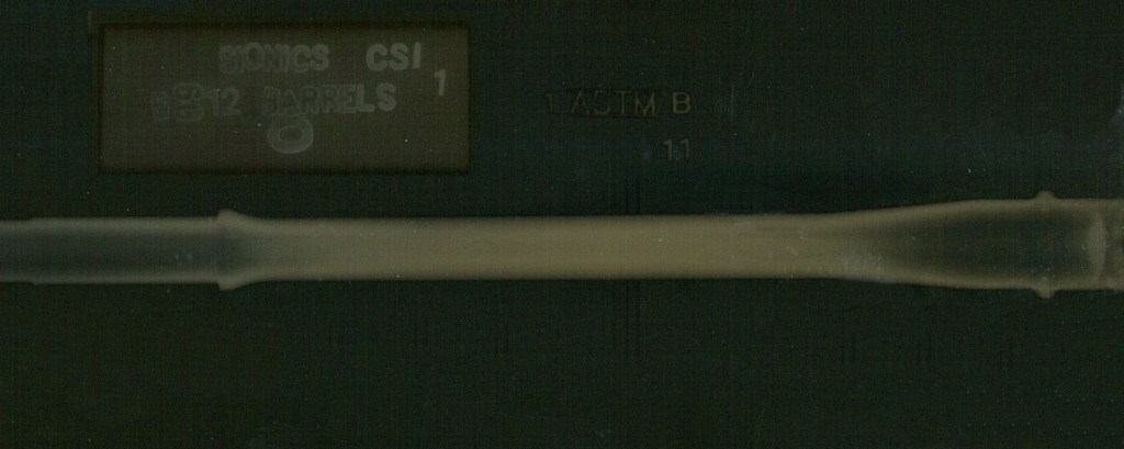 xray of SIONICS barrel