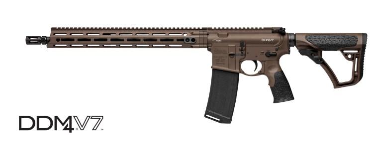 Daniel Defense DDM4 V7 Rifle CALIFORNIA COMPLIANT with Mil Spec Brown