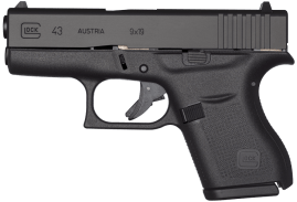 Glock 43 (Trijicon Sights)