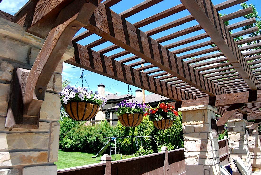 Celebrate Decorate With A Gazebo Pergola Arbor Or