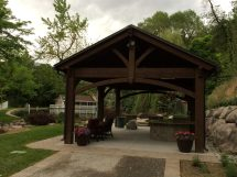 Inspired - Backyard Escape With Diy Timber Frame