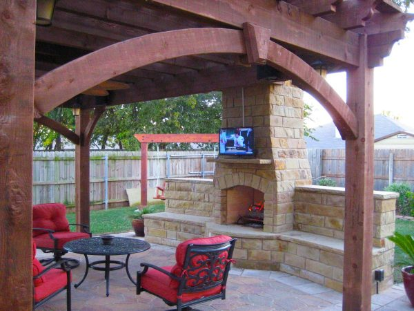 Fireplaces & Diy Outdoor Shade Structures Western