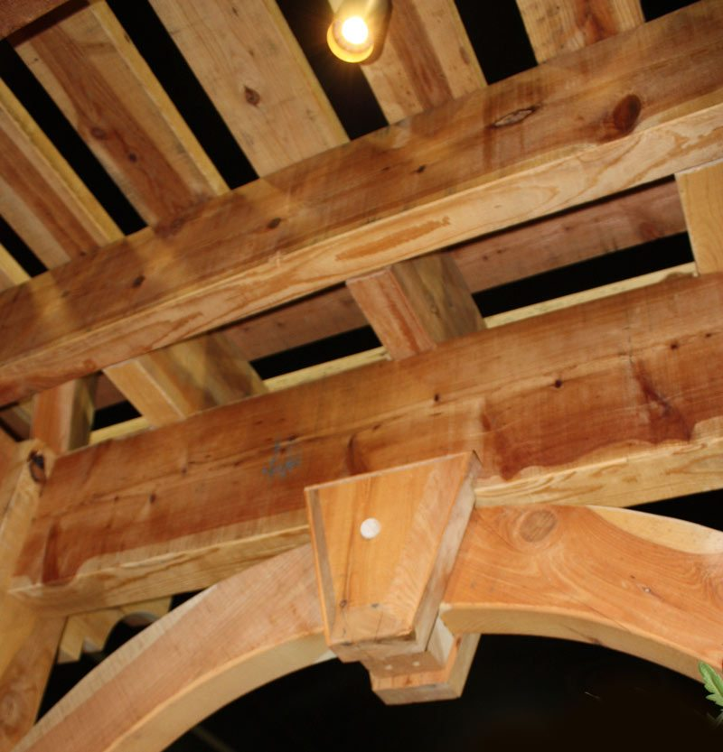 The Dovetail Difference Dovetailed Timber Frame Joint