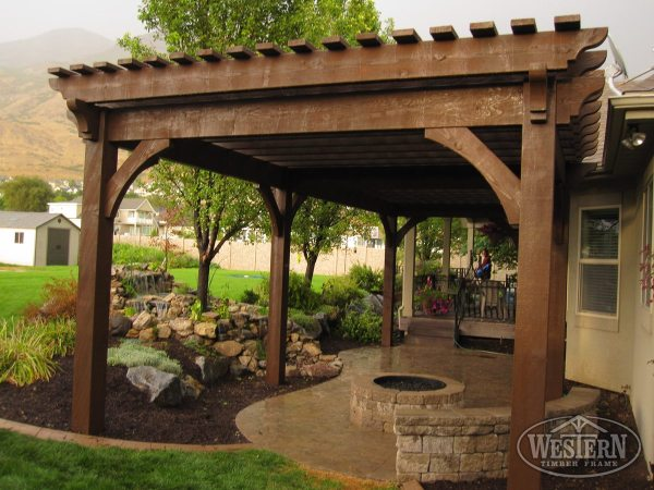 Outdoor Shade Patio Pergola Ideas