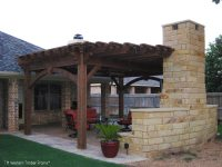 9 Fun Outdoor TV Theater Living Areas | Western Timber Frame