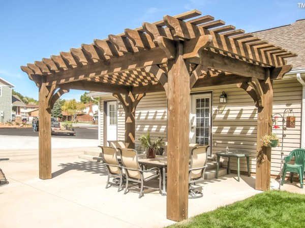 Easily Build Diy Patio Cover Western Timber Frame