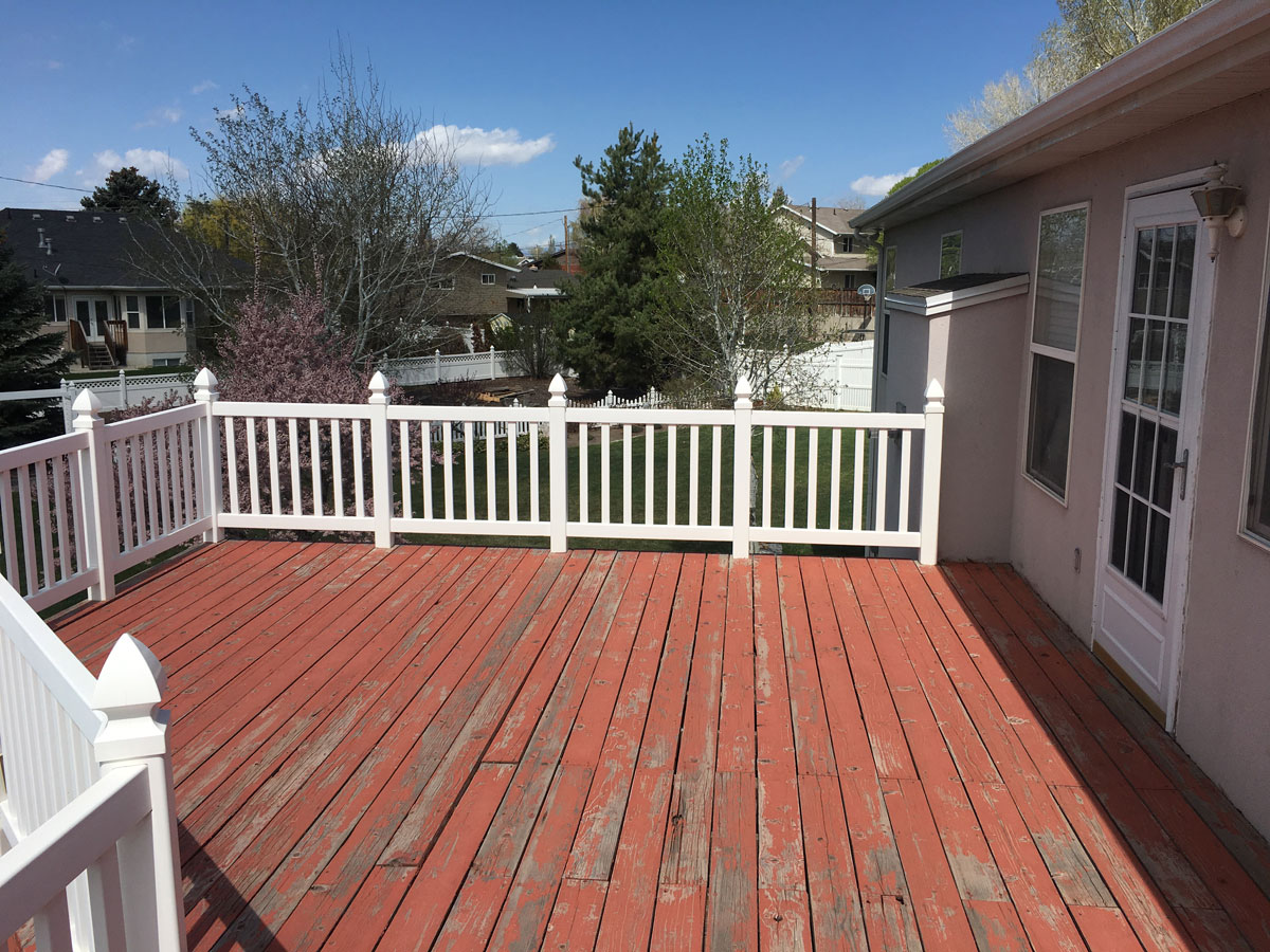 Beef It Up Remodel Heavy Duty Deck W Cover Western