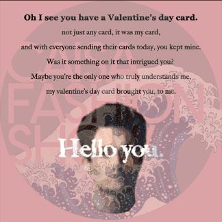 CAISA Valentine Card