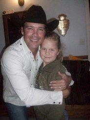 Hannah with Clay Walker