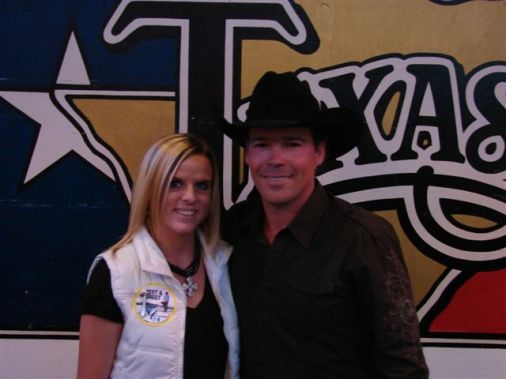 Jessica with Clay Walker