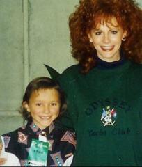 Rachel with Reba 97