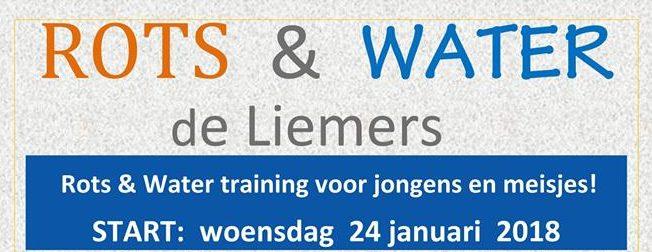 Rots & Water de Liemers start in januari weer met dé weerbaarheidstraining voor jongens en meisjes.
