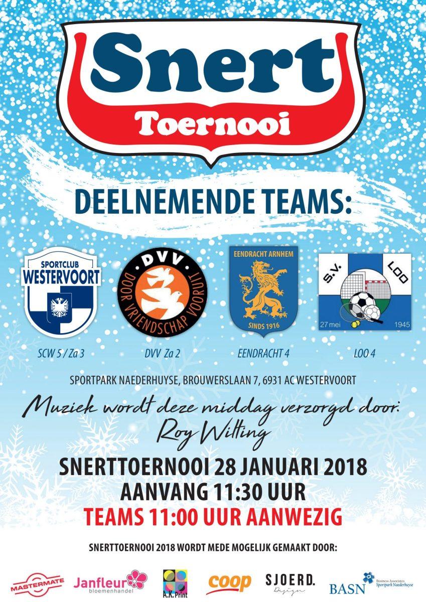 Snerttoernooi bij Sportclub Westervoort