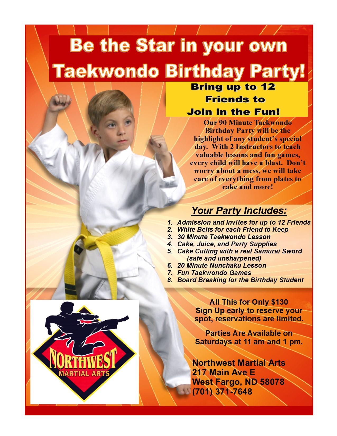 northwest martial arts west