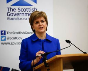 Nicola Sturgeon Scot Gov.