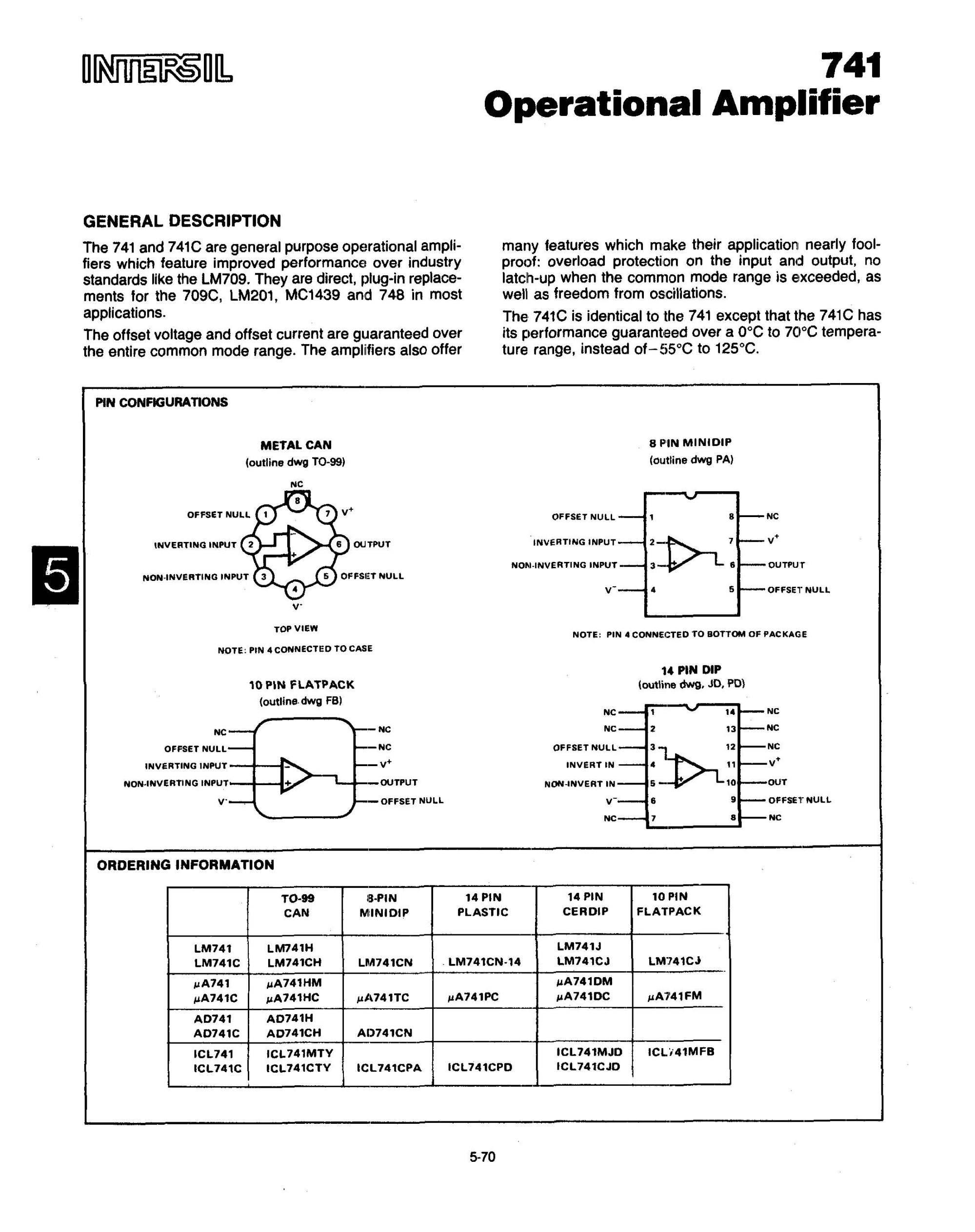 hight resolution of full datasheet ua741pc 1