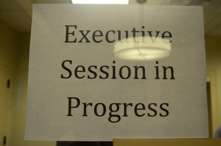 There were four Executive Sessions on June 9...