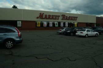 Westford Valley Marketplace Market Basket as of 4:40 p.m. on Thursday.