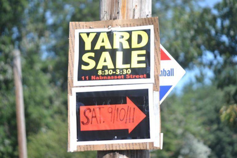 (W) Yard Sale