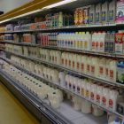 There is still milk, although some dairy items are in short supply.