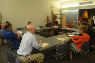 The Drew Gardens Task Force on Oct. 14