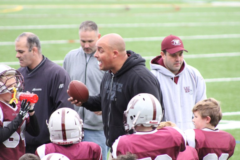 Coach David Silton (credit: Mike Saunders)
