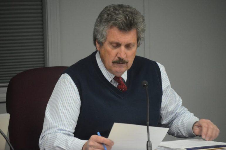 Superintendent Bill Olsen on Jan. 12, 2015