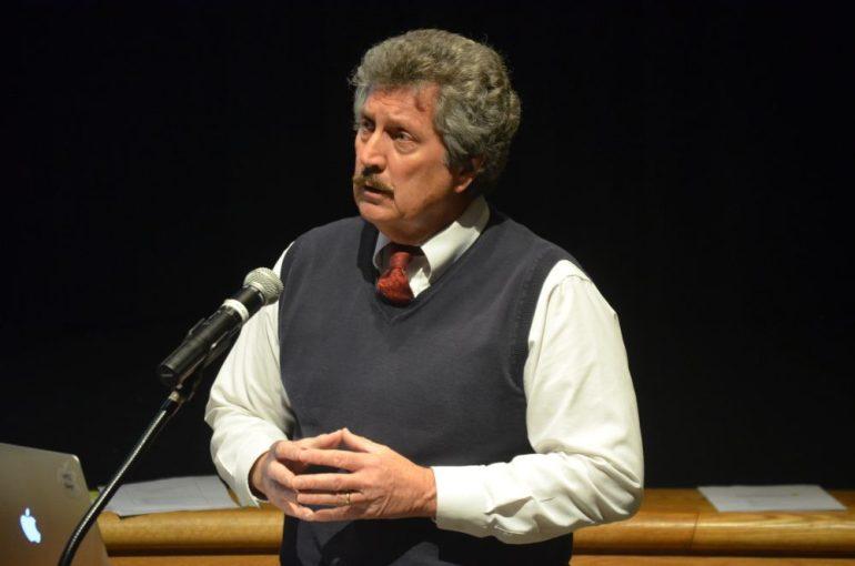 Superintendent Everett V. Olsen at the Stony Brook School. WESTFORDCAT FILE PHOTO