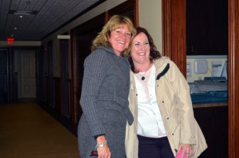 Sue Hanly (left) and Stephanie Granger.
