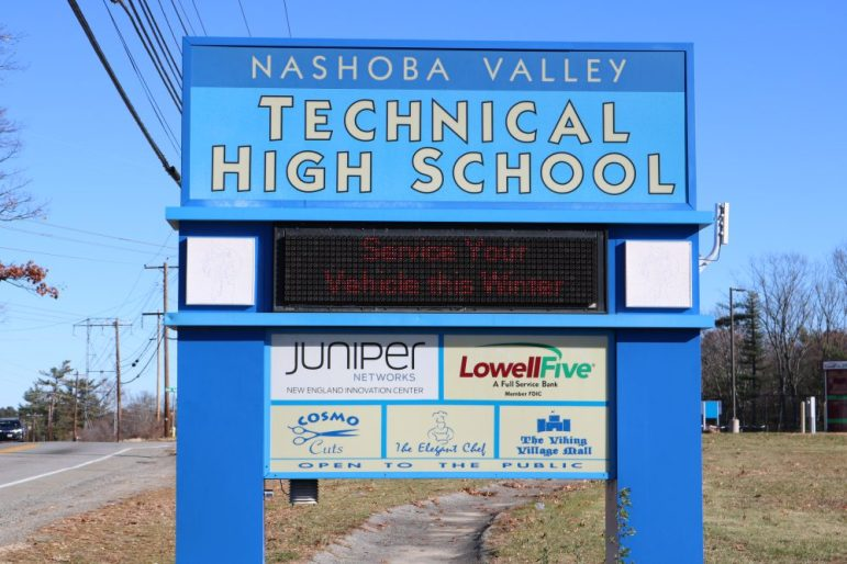 Nashoba Valley Techinical High School. PHOTO BY JOYCE PELLINO CRANE