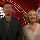 Jack Wang and Joyce Pellino Crane anchored this week's news show. WESTFORDCAT PHOTO