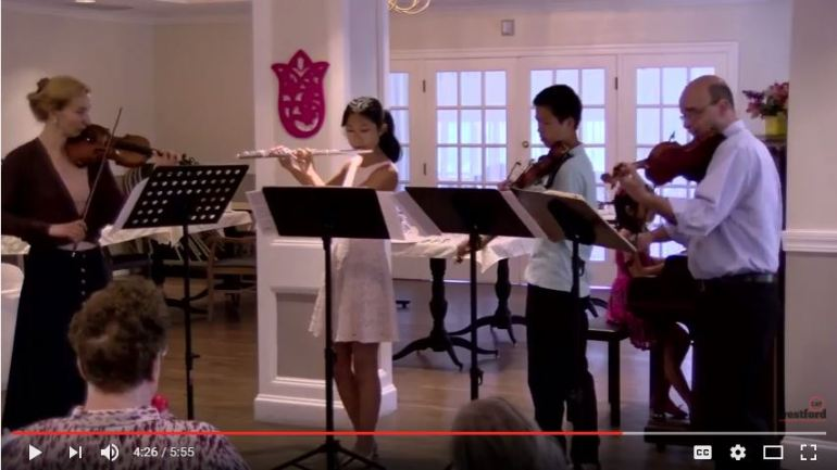 Concert performed on July 1 at Westford House. WESTFORDCAT PHOTO