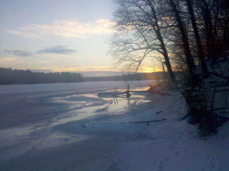 Forge Pond. PHOTO BY JOYCE PELLINO CRANE