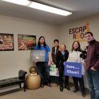 WestfordCAT staffers visit the Escape Room in Westford on Jan. 19. PHOTO BY GABRIELLE DAVIS