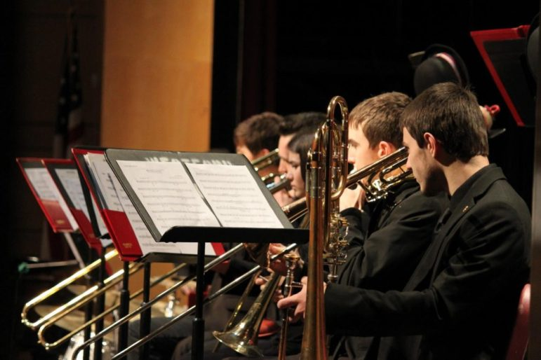 The Westford Academy Band. COURTESY PHOTO