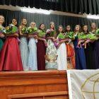 Westford Academy senior Emily Doolan is crowned 2018 Apple Blossom queen. PHOTO BY JOYCE PELLINO CRANE