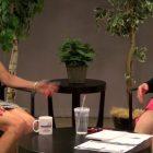 Mental Health Advocate Sue Hanly with WestfordCAT News Director Joyce Pellino Crane. PHOTO BY STEPHEN EDWARDS