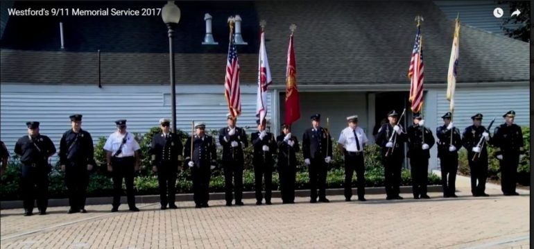 Memorial service on Sept. 11, 2017. PHOTO BY PATTY STOCKER