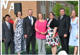 Westford School Committee members in 2018. COURTESY PHOTO