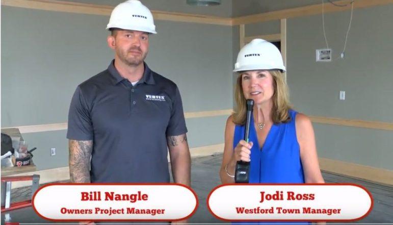 Bill Nangle and Jodi Ross. WESTFORDCAT PHOTO