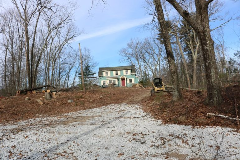 Abutter Laments Clearing of Groton Road Parcel for Affordable