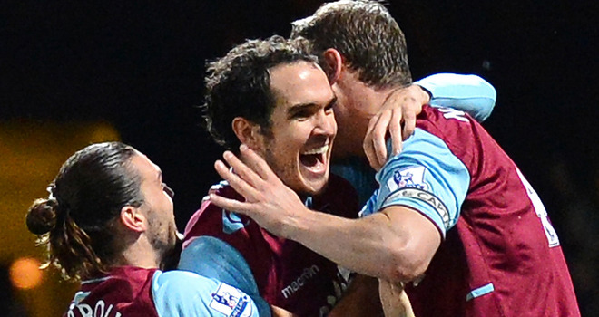 hammers vs stoke city 2012