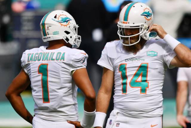 Miami Dolphins focused on finding solutions, not quarterback chatter