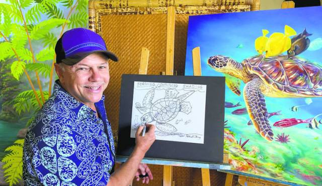 Ching named Artist in Residence for Hawaiian Islands Humpback Whale National Marine Sanctuary